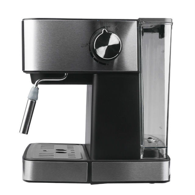 DSP  Semi-automatic Coffee Machine Stainless Espresso Maker Fully Functional Home Display Full Temperature Control 1