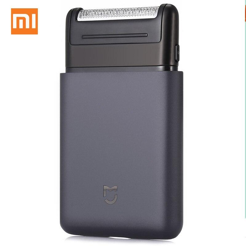 Xiao mi rasoir électrique Portable rasoir électrique USB Rechargeable 60HRC japon acier hommes voyage pour Xiao mi mi smart home