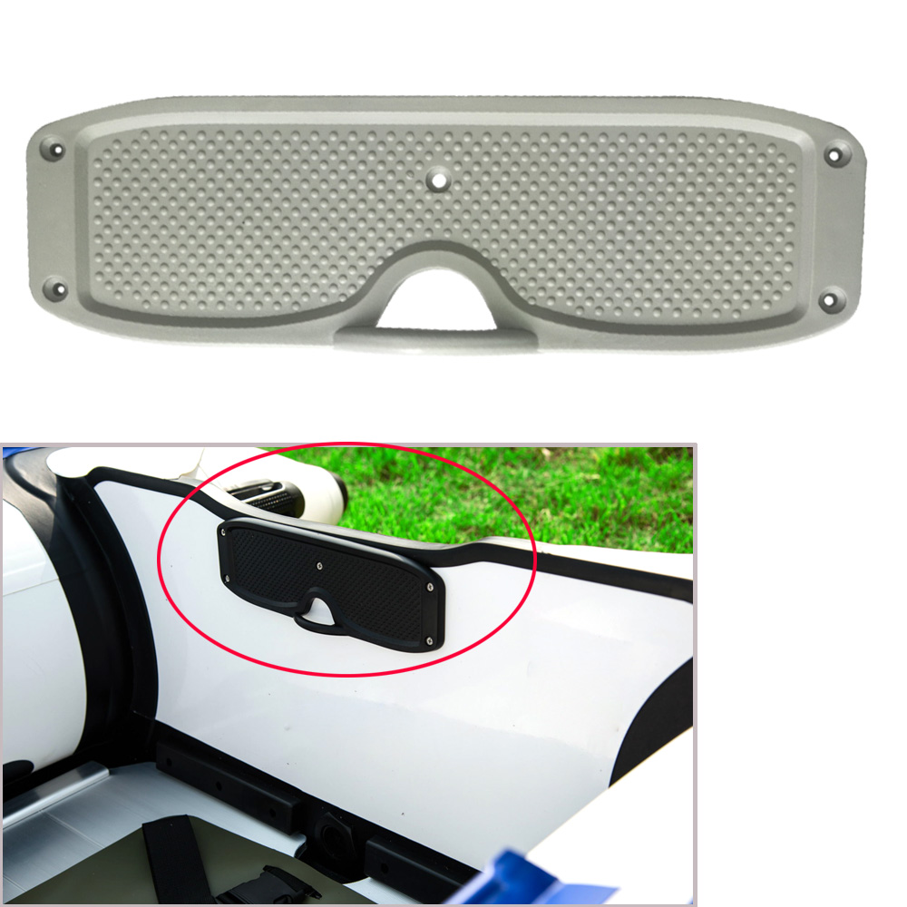 Marine Inflatable Boat Fishing Dinghy Transom Plate Outboard Mounting Plate Engine Bracket For Fishing Boat Dinghy Accessories