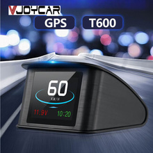 VJOYCAR T600 GPS HUD Display Car Speed Projector 2.6″ TFT LCD Smart On-Board Computer Digital Car Speedometer Work for All Cars