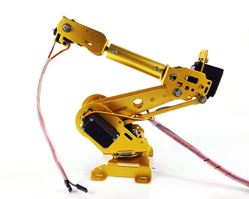 6DoF Robot Arm ABB Manipulator with 4pcs*MG996r+2pcs*MG90S+ESPduino Development Kit