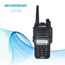 Новинка 2019 года; Мощность обновление Baofeng UV-9R влагонепроницаемые Walkie Talkie 10 Вт для приемопередающей радиостанции большой дальности в 10 км УФ 9R плюс