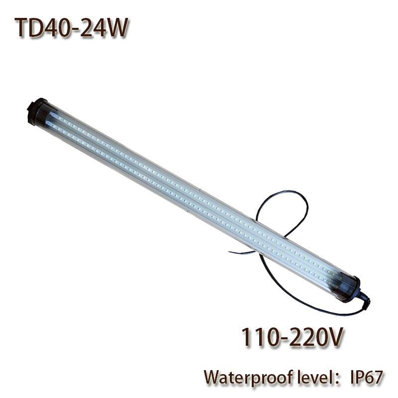 HNTD 24W AC 110V-220V Led Work Light Waterproof IP67 Explosion-proof TD40 LED Panel Light for CNC Machine Tools hot saleHNTD 24W AC 110V-220V Led Work Light Waterproof IP67 Explosion-proof TD40 LED Panel Light for CNC Machine Tools hot sale