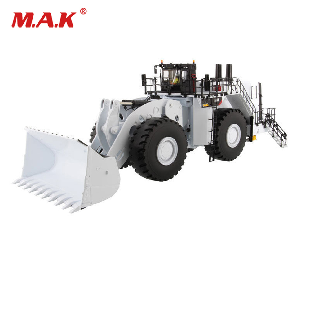 Collection Diecast 1/50 Scale 994K Engineering Trucks Diecast Wheel Loader White Model Diecast Excavator Truck Car Vehicles collection diecast 1 50 scale m318f wheeled diecast excavator truck car vehicles diecast model