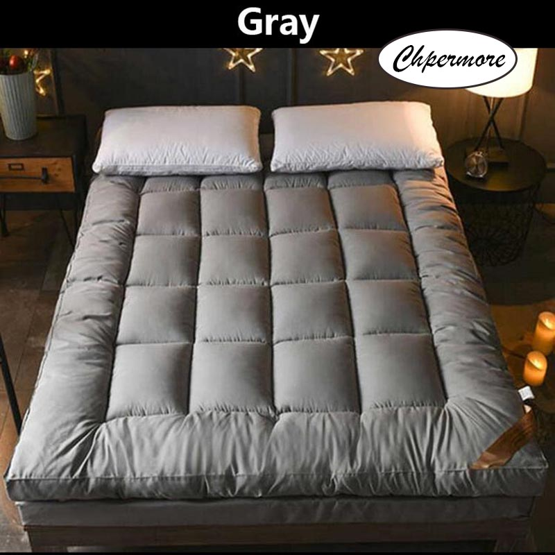 Image 4 - Chpermore Thicken Feather velvet Mattress five star hotel Foldable Tatami Single double Mattresses Cotton Cover King Queen Size-in Mattresses from Furniture