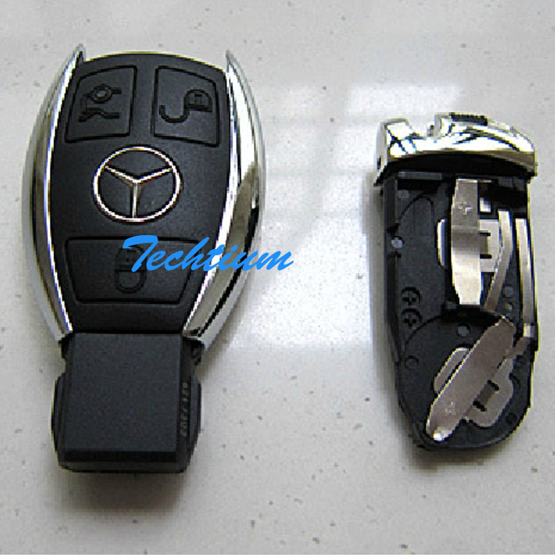 Smart 3 Button Remote Key Case Without Panic Button For