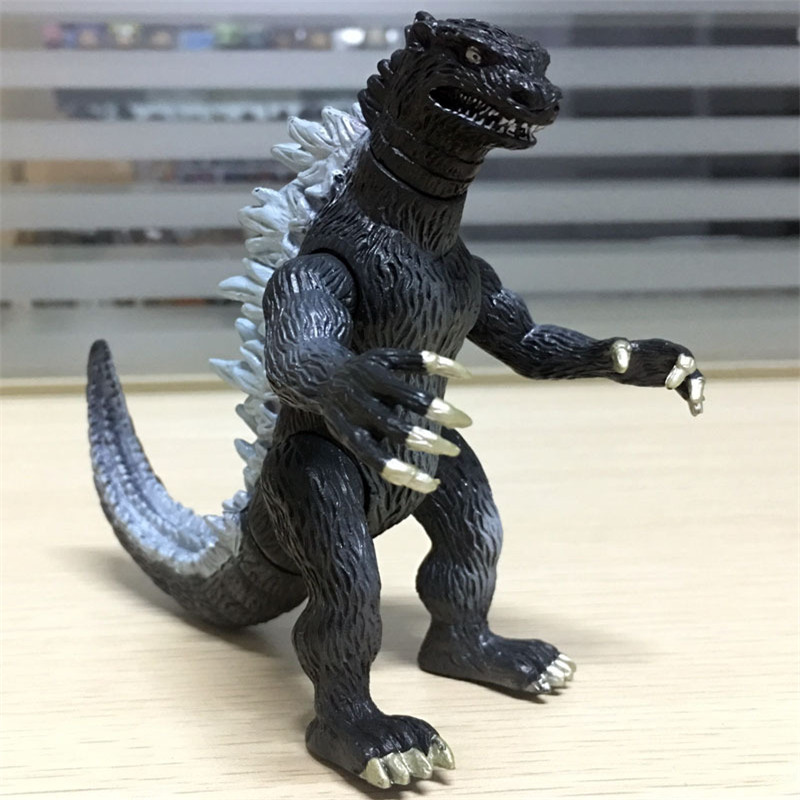 1pcs Godzilla PVC Action figure Toys Furnishing Articles PVC Figure Toys 12cm heigh Gifts For Children new 1pieces lot pvc qq mini shape shifting robot car monster machines furnishing articles children s gift