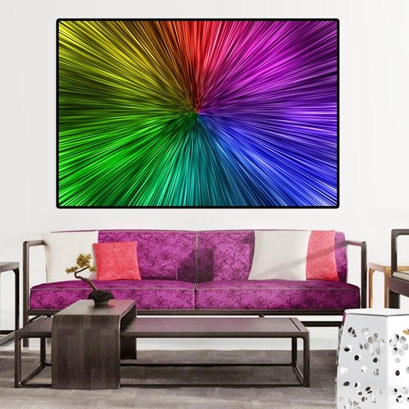 716d27ff6755b RELIABLI الفن الملونة الفن التجريدي قماش الطباعة صور فنية للجدران لغرفة  المعيشة الحديثة اللوحة الزخرفية