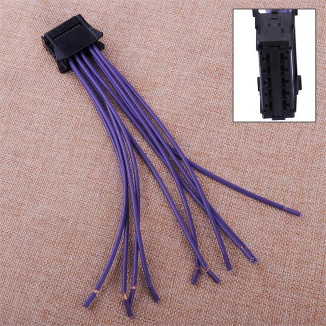 CITALL Heater Blower Resistor Wiring Loom Harness Repair Fit For