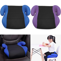 40x40x17cm Car booster seat Portable Baby Increased Seat Safety For Cars Children Dinning Chair Padded Booster Seat Universal