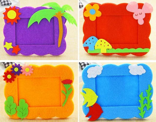 Wholesale 4pcslot Non Woven Picture Frame Nursery Children Art