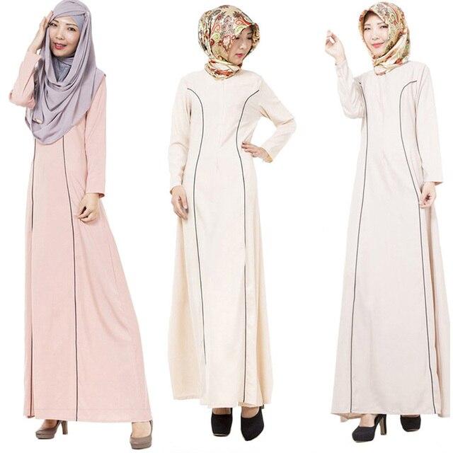 Турецкие женщины одежда исламская мусульманского абая мусульманский платье longos vestidos одежда дубай кафтан повседневная лонго giyim арабские одежды