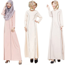 Abaya Turkish women clothing islamic musulmane vestidos muslim dress longos clothes dubai kaftan casual longo giyim arab garment