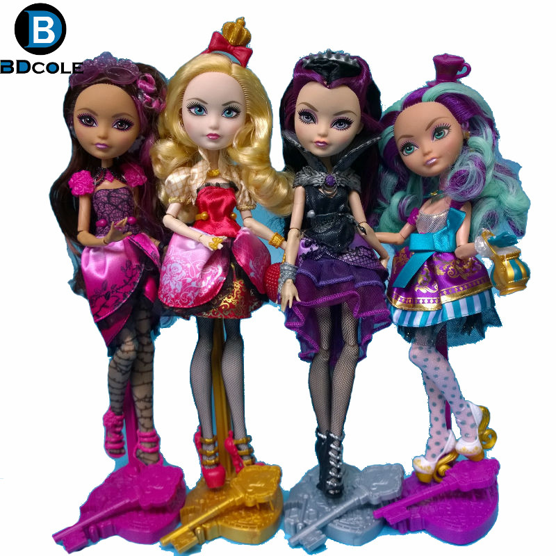 28cm BDCOLE Monster Ever After High Quality Dolls Original Fashion Joints Anime Model Toy For Girls