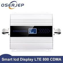 リピータ 850 液晶画面 3 グラムgsm/cdma 850/800 mhz 850mhzのリピータブースター携帯電話モバイルの信号リピータアンプrepetidor