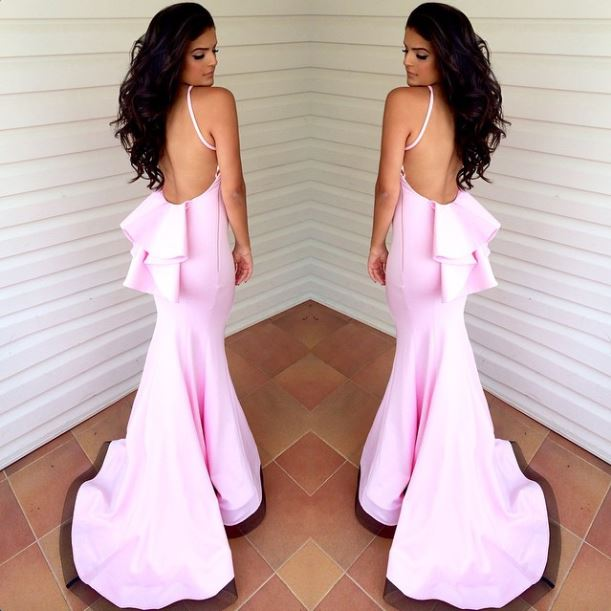 Prom Dresses Pretty New Arrival Elegant Backless Maxi Vestido Summer ...