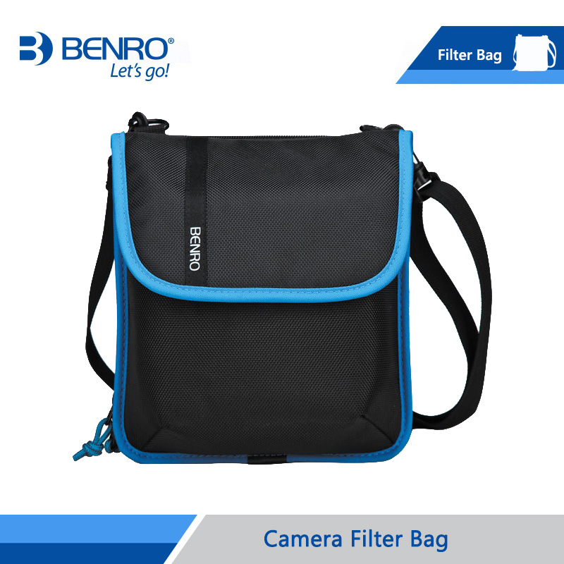 Benro Filter Bag Storage Filter holder For Square Filters And Round Filters Nylon Bag Free Shipping