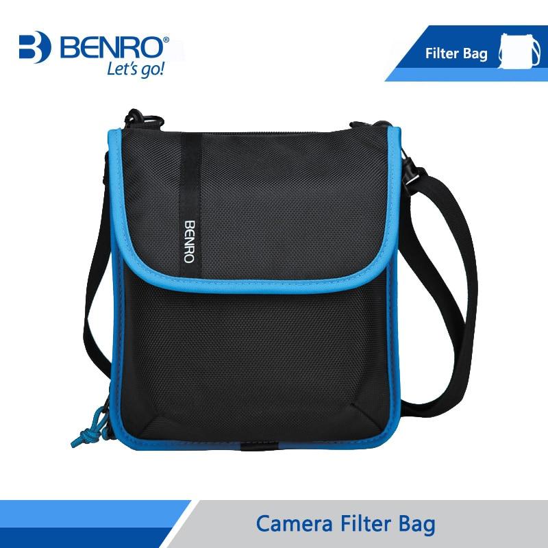 Benro フィルターバッグ収納用スクエアとラウンドフィルターナイロンバッグ送料無料  グループ上の 家電製品 からの カメラ / ビデオ バッグ の中 1
