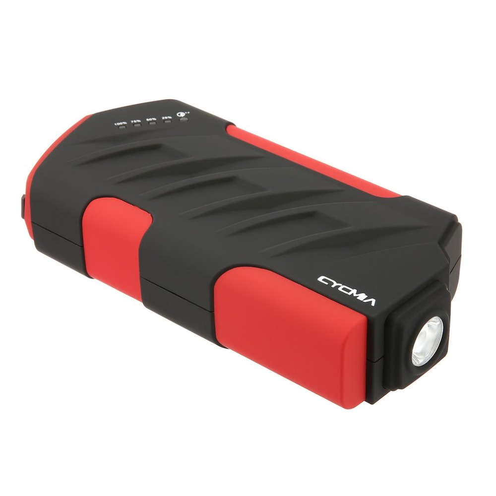 Professional Compact Auto Car Jump Starter Booster 82800mAh Emergency Starting Power Supply LED SOS Charger Battery Power Bank