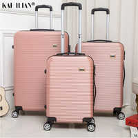 Горячая 20/24/28 дюймов багаж на ролликах Sipnner колеса ABS + PC бленда для объектива в Для женщин масштабных дорожных чемоданов, мужская мода кабина ...