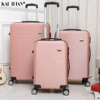 HOT 20/24/28 cal rolling bagażu Sipnner koła ABS + PC kobiety walizka podróżna mężczyźni moda kabiny przenoszenia i staje w sytuacji sam na sam wózek na kółkach bagażu