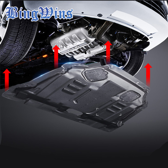 Car styling For Ford Ecosport Plastic engine guard 2013-2015 For Ecosport Engine skid plate & Car styling For Ford Ecosport Plastic engine guard 2013 2015 For ...
