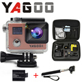 Gopro hero 4 yagoo8 wi-fi камера действий 4 К мини видеокамера спорт действий видео камеры подводный водонепроницаемая камера спорта cam