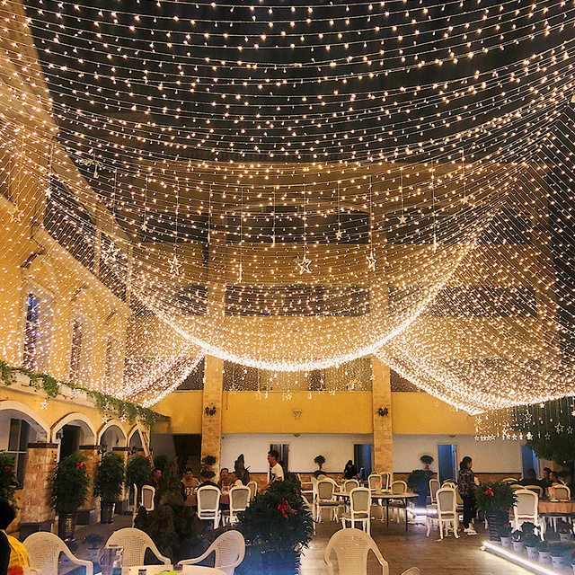 10m Led String Garland Christmas Tree Fairy Light Chain Waterproof Home Garden wedding Party Outdoor Holiday Decoration