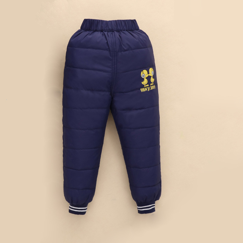 d38a1d8ea ᗔBaby Child Winter Down Pants Girls Fashion Stretch Trousers Kids ...
