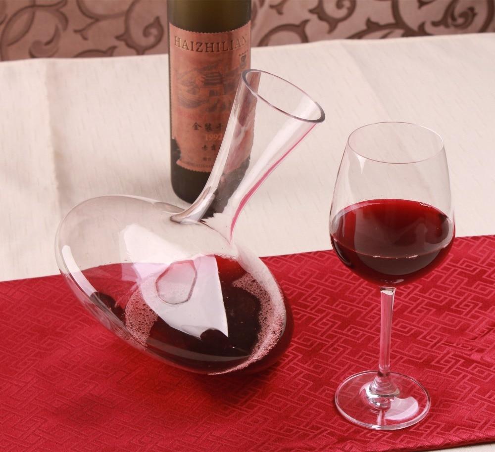 1PC 1200 ml ग्लास वाइन डिकंउटर - रसोई, भोजन कक्ष और बार