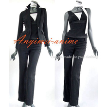 Free Shipping Women s Pant Suit The Business Cosplay Costume Tailor made