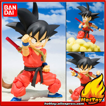 "100% Original BANDAI Tamashii Nations S.H.Figuarts (SHF) Action Figure - Son Goku -Childhood- from ""Dragon Ball"""