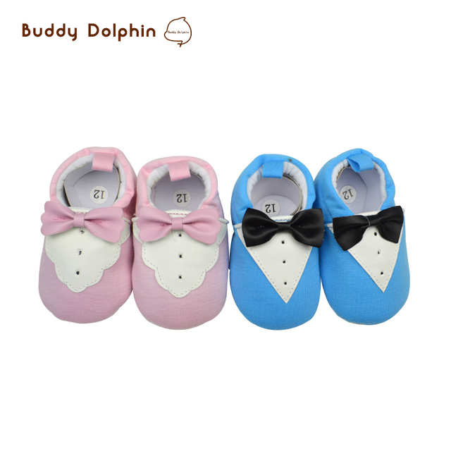 ad49f6ef0c8235 2 Pairs Toddler First Walkers Baby Shoes Boy Girls Round Toe Design Crib  Shoes Newborn Baby Cotton Soft Soled Prewalker 0-12M.