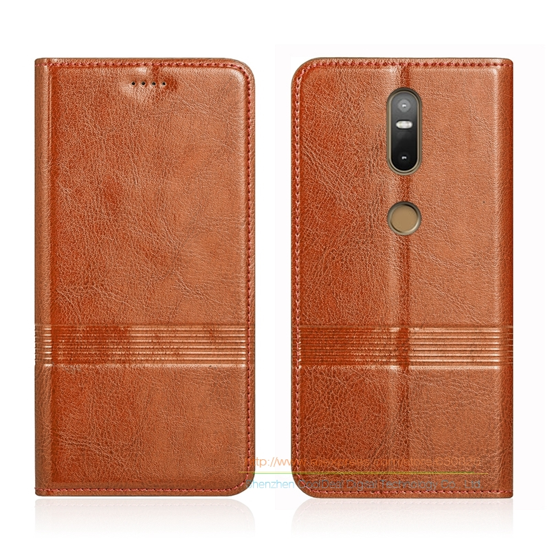 Vintage Genuine Leather Flip Stand Case For Lenovo Phab 2 Phab2 plus 6 44 Cowhide Leather