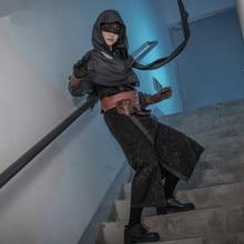 アイデンティティ V Cos 占い師預言者ホットゲームコスプレ衣装ショール + 服 + 手袋 + ベルト + ウエスト + アイマスク
