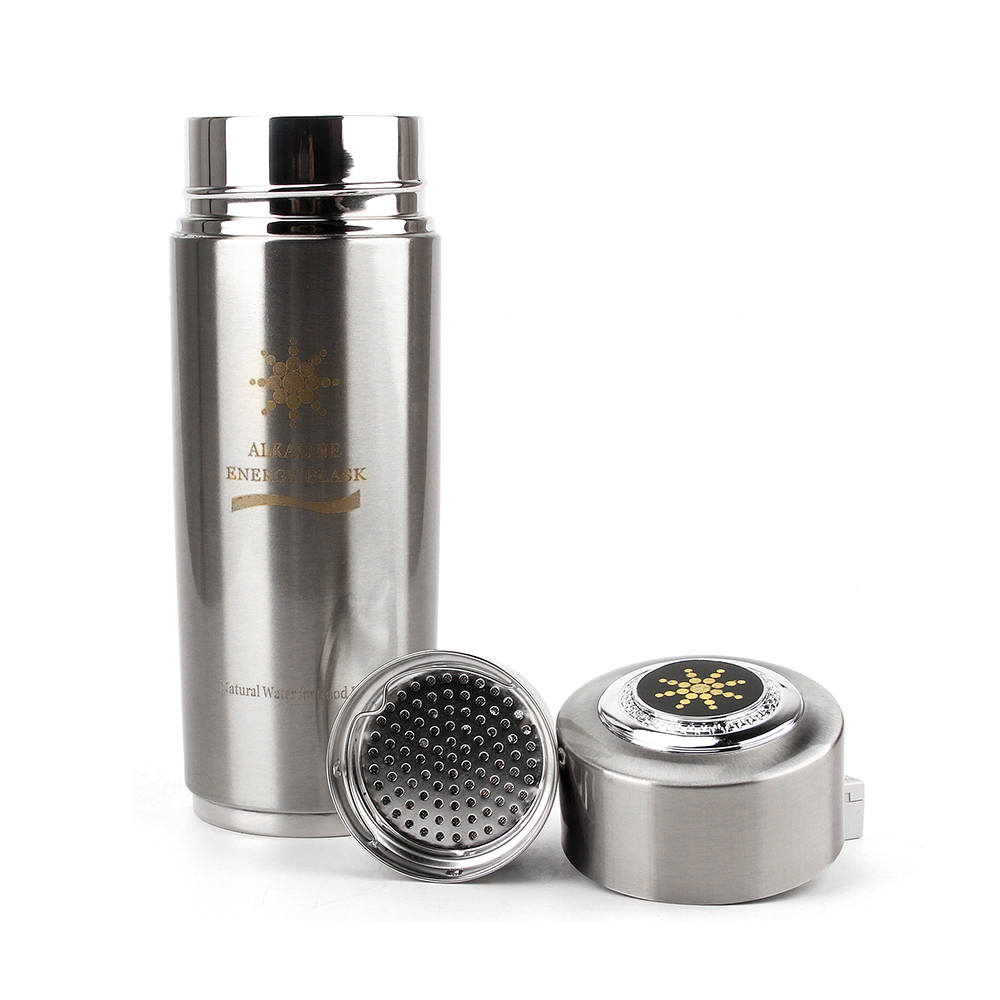 400ml Daily Health Care Alkaline Hydrogen Negative Ion Water Ionizer Bottles Energy Nano Flask Water Bottle With Filter