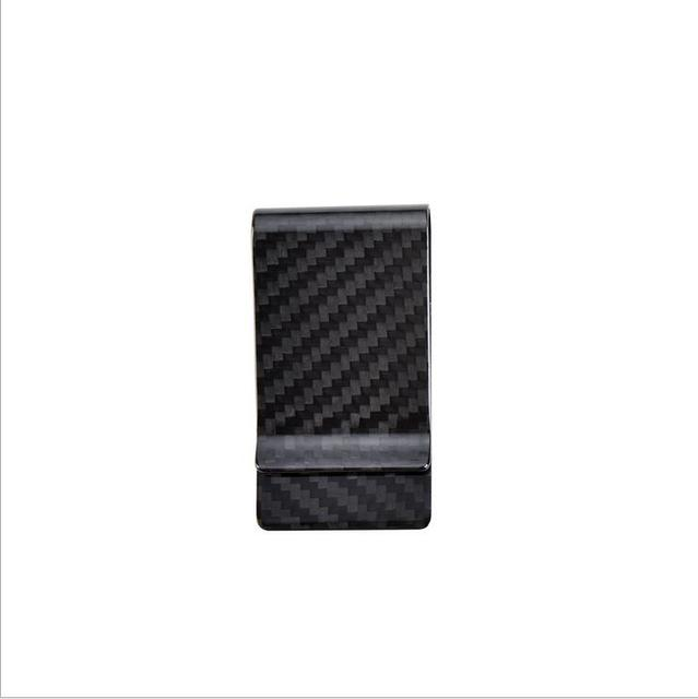 Brand New  Real Carbon Fiber Money Clips Durable Holders Wallet      Z078