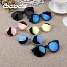 iboode Kids Sunglasses Colorful Reflective Mirror sunglasses Children Boy Girl Baby UV400
