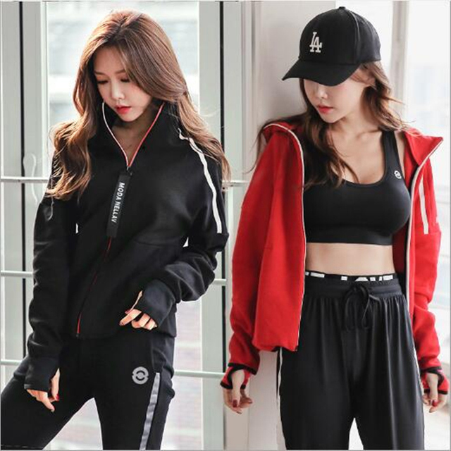 Quick Dry Gym Fitness Yoga Workout Sportswear Suit