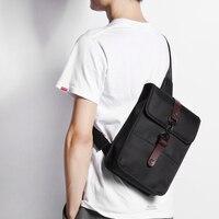 New Group Chest Bag For Men Canvas Sling Casual Crossbody Bag For Trip Shoulder Messenger Bags
