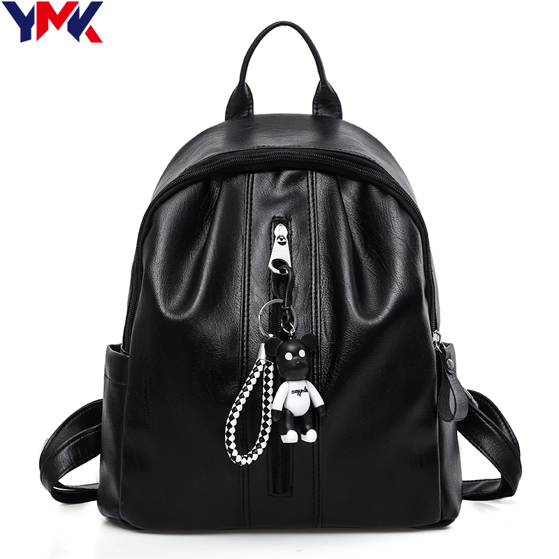 High Quality PU Leather Women Backpack Fashion School Bags For Teenager Girls Large Capacity Casual Women Travel Backpacks backpack women school bags brand backpacks women high quality large capacity teenager backpacks for teenage girls student bags