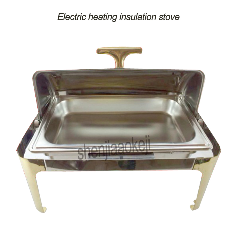 220v /110v 500w Commercial Buffy Furnace Electric Heating Insulation Stove Insulation Furnace Durable Hotel Buffet Cooker 1pc