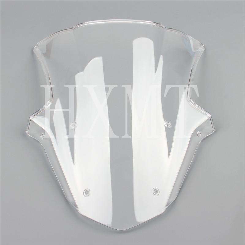 HotSale For Kawasaki ZX10R ZX 10R 2011 2012 2013 2014 2015 White Windshield WindScreen Double Bubble|Windscreens & Wind Deflectors| |  - title=