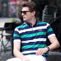 M 3XL New Arrival 2017 Summer Men S Fashion Pure Cotton Polo Shirts Short Sleeve Mens