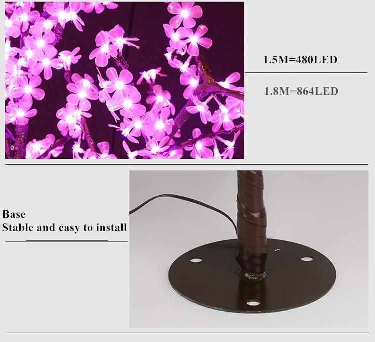 led tree light details