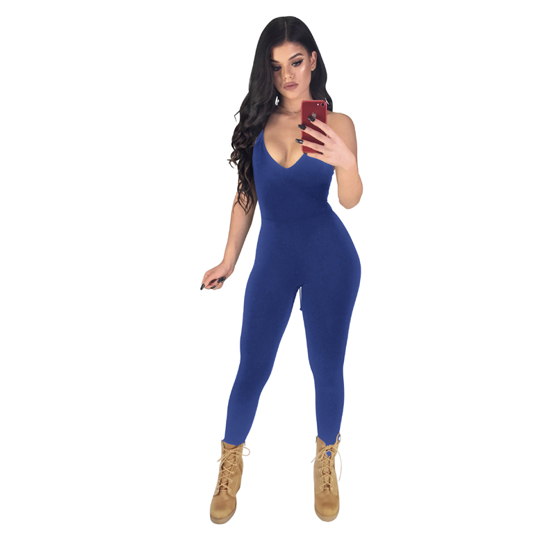 02fabfdf4b55 Kricesseen Sexy Short Sleeve Patchwork Skinny Tight Fitted Playsuit Summer  Overalls Zip Up Rompers Womens Club Mujer Jumpsuit