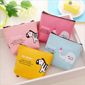 Cute Mini Change Coin Purses Smile Face Women Plush Purse Bag Lady Children Wallets Pouch Girls Handbag free shipping