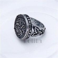 Supernatural Pentagram Storage Box Ring