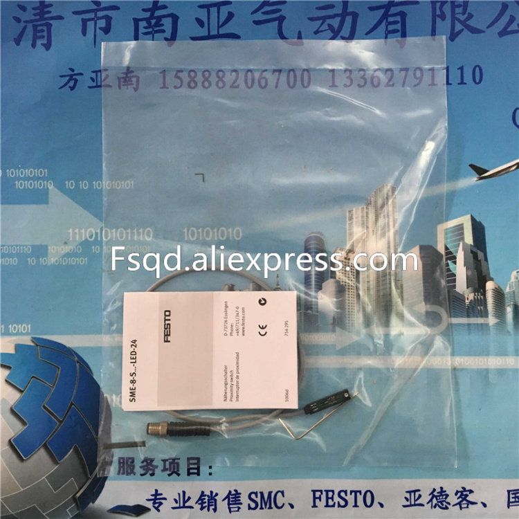 все цены на  SME-8-S-LED-24 150857 FESTO magnetic switch  онлайн