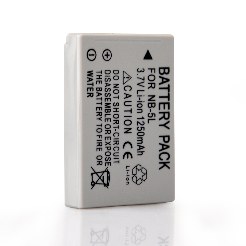 1Pcs 1200mAh NB-5L NB 5L Camera Battery For Canon SX200is SX210IS SX220HS SX230HS CB-2LXE S100 S110 SD950 SD970 SD990